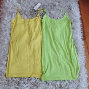 Dresses & Skirts - 2 Stretchy Summer Dresses Size XS